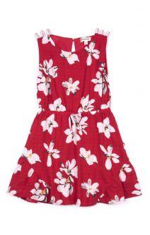 Kjole -Tinos sommerkjole, rød