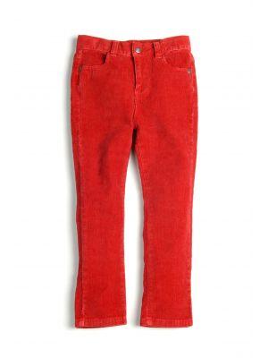 Bukse - Skinny Cord, Big Top Red