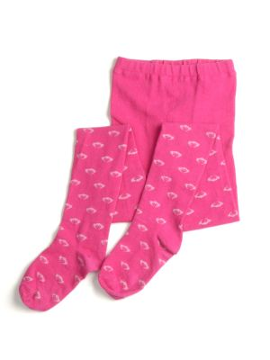 Strømpebukse - Logotights, Pink