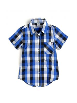 Kortermet skjorte - Tilden Shirt, Blårutet