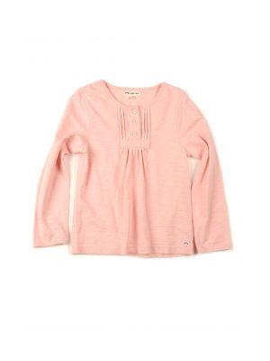 Rosa genser til jente