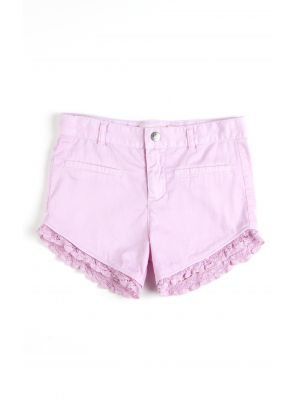 Shorts - Baja Vintage, Dus rosa
