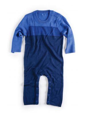 Sparkedress - Crosby Sweater Jumpsuit, Blå