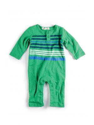 Sparkedress - Striped Henly Jumpsuit, Grønn
