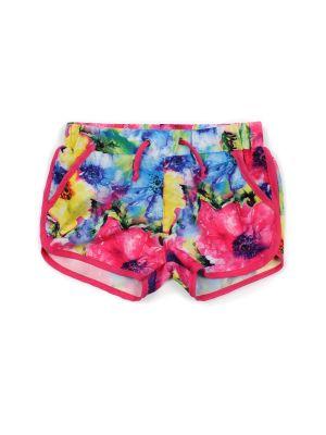 Shorts - Harper Floral Multi, Rosa flerfarget