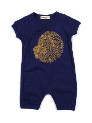 Body - Grapic Lion Mini, Blå