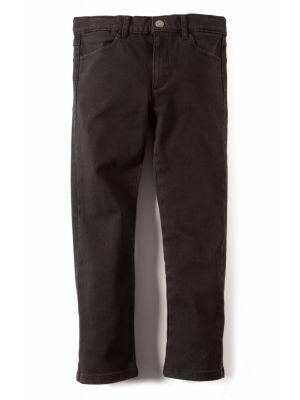 Bukse- Skinny Twill Pant, sort