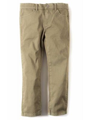 Bukse - Skinny Twill Pant, oliven