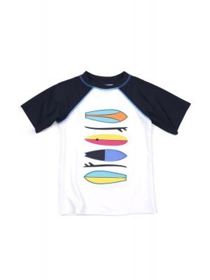 T-skjorte - UV 50+ Rashguard Surfboards