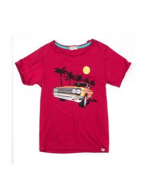 T-skjorte - Lowrider barberry, Rød