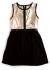 Kjole - Heather, sort & sølv