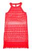 Kjole - Lilly Neon Coral, Lakserød