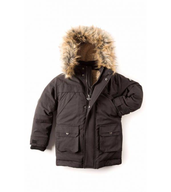 Dunparkas - Denali Down Coat, Svart