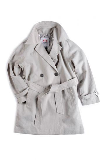 Jakke - Trench coat, Grå