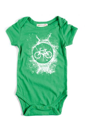 Body - Bicykle Onsie, Green OUTLET