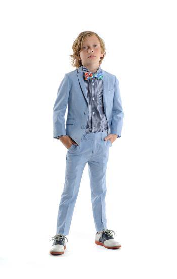 Pendress - Fine Tailoring Sky Blue Suit, Lys blå