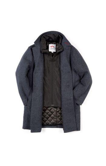Fine Tailoring Parkas - City Overcoat, Mørk blå