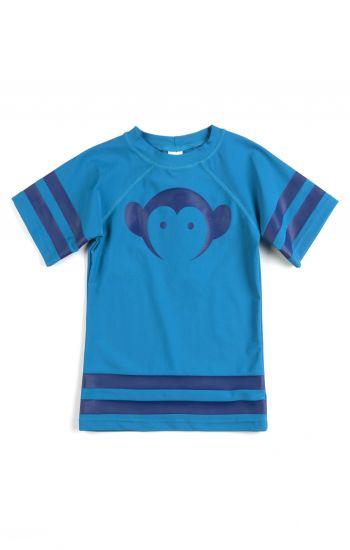 Solbeskyttende t-skjorte til gutt