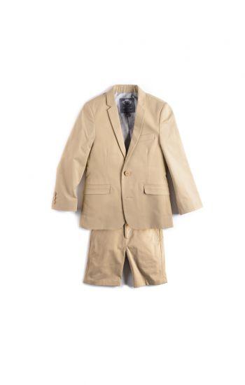 Sommerdress - Fine Tailoring Desert Shorts Suit, Lys beige