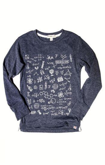 Langermet trøye - Science Wiz, Blå