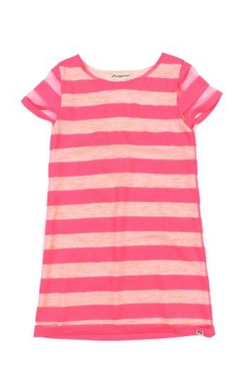 Kjole - Capri Hot Pink Sommerkjole, Rosa