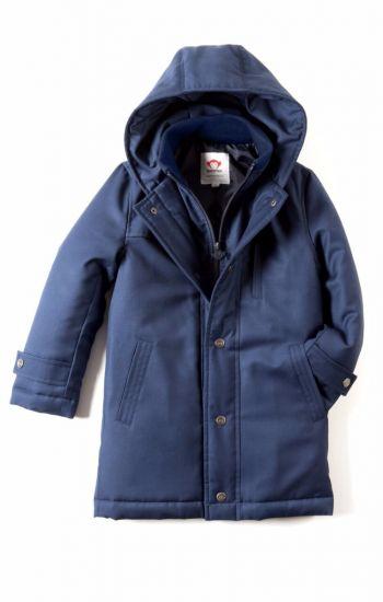 Fine Tailoring Parkas - Gotham Coat, blå
