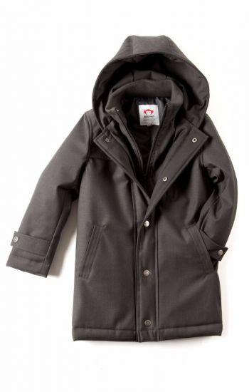 Fine Tailoring Parkas - Gotham Coat, Koksgrå