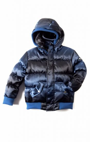 Dunjakke Mini - Puffy Coat, blå