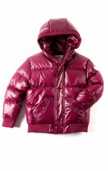 Dunjakke Mini - Puffy Coat, lavendel