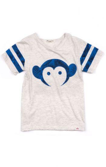 T-skjorte - Sandlot Logo Jersey, Hvit & blå