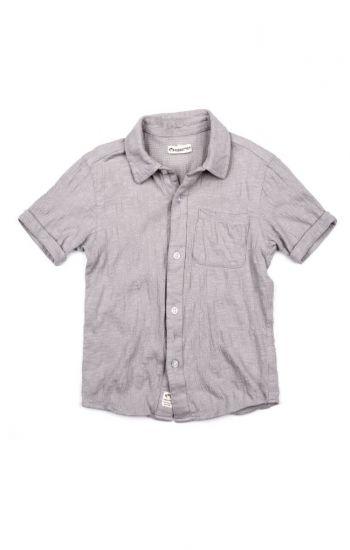 Kortermet skjorte - Beach Shirt, lysegrå