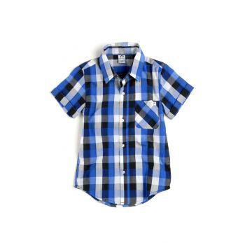 Kortermet skjorte - Tilden Shirt, blå rutet