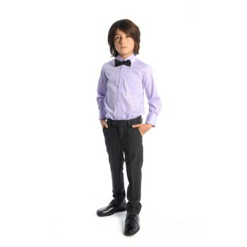 Penskjorte - Lavendel dresskjorte