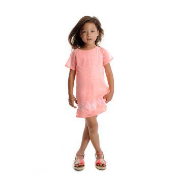 Kjole - Jasmine Ivory Dress - Dus rosa