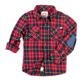 Flanellskjorte, Rød rutet