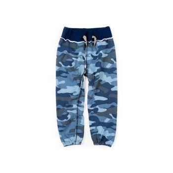 Joggebukse - Gym Sweats, blå kamuflasje