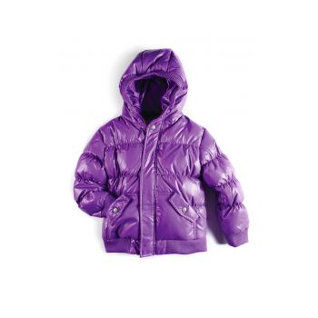 Dunjakke - Puffy Coat Passion Pit, Lilla