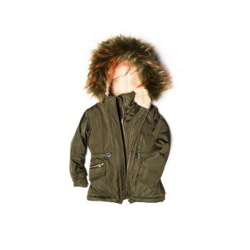 Ytterjakke - Middie Puffer Coat, Olivengrønn