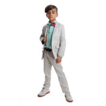 Pendress - Fine Tailoring Suit Linnen Fog, Lys tåkegrå