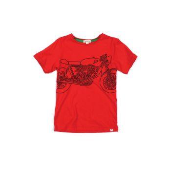 T-skjorte - Shazam Bike, Rød