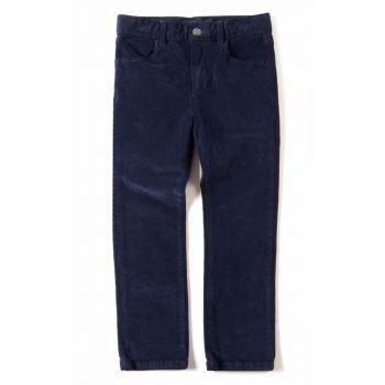 Bukse - Skinny cord, blå