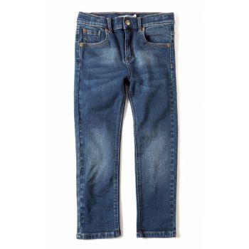 Bukse - Skinny Leg Denim Jeans, blå