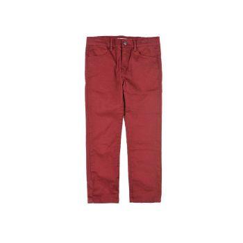 Bukse - Skinny Twill Pant, Burgunder