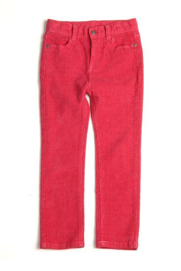 Bukse - Skinny Cord, Stiletto rosa