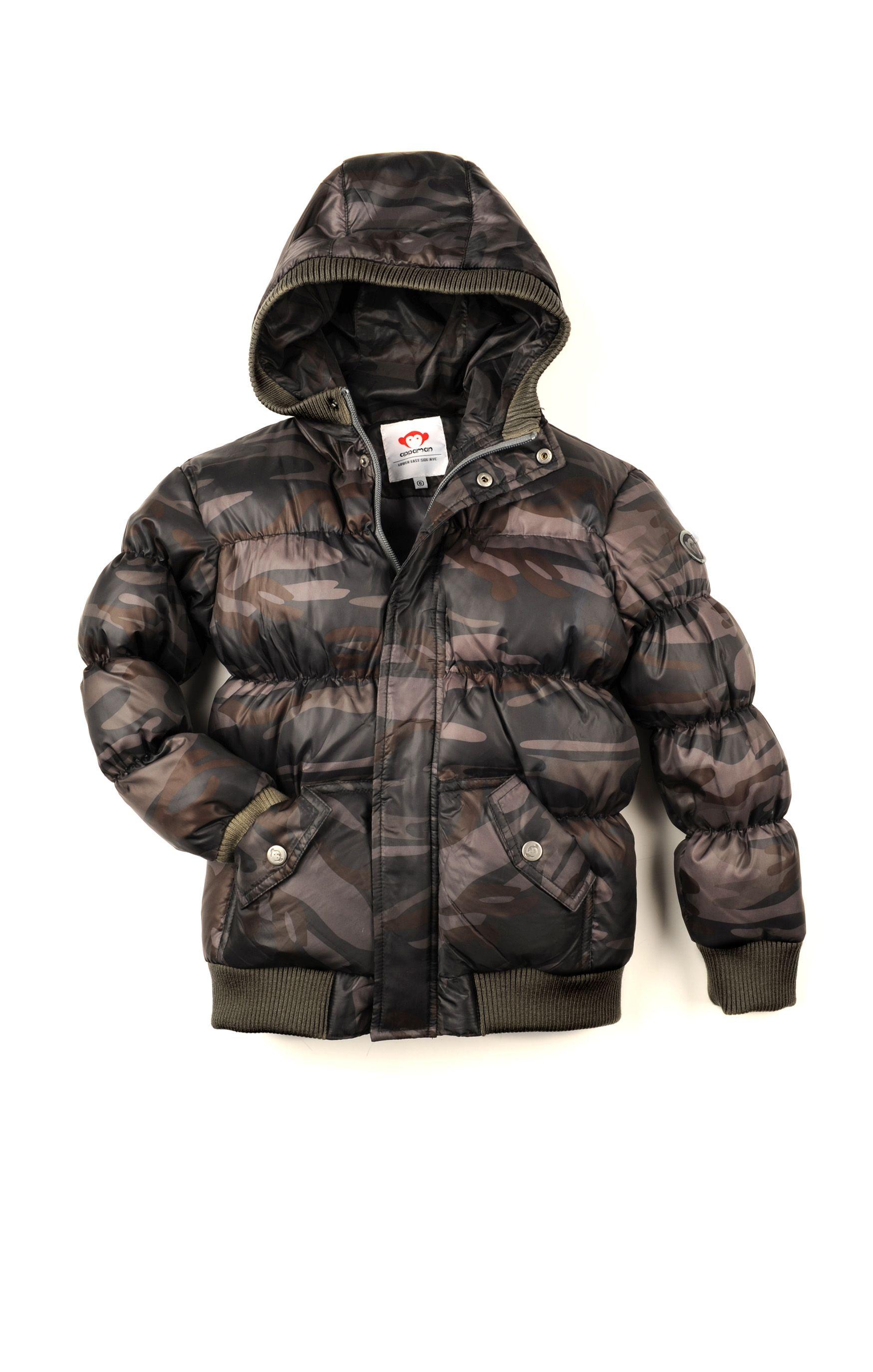 9f8d0732 Jakke | Barneklær | Puffy Coat Camouflage