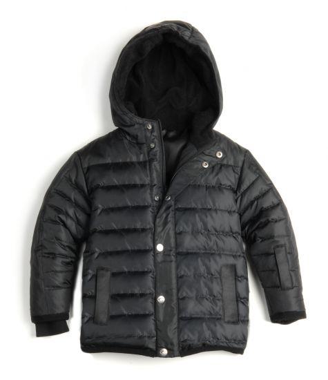 Dunjakke - Expedition Coat Black, Svart
