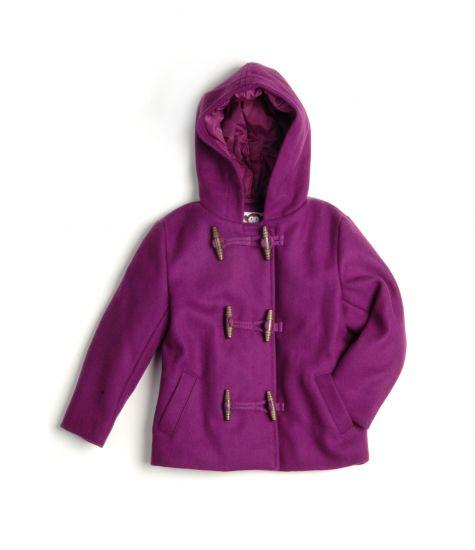 Duffelcoat - Jolly Grape Little Jacket, Lilla