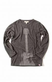 Langermet trøye - Rock 'n' Roll, grå