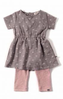 Kjole mini- Maple sett med tights