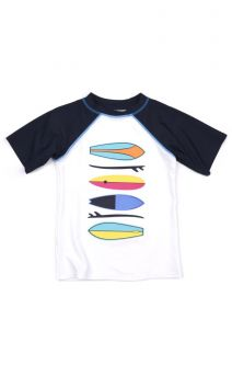 T-skjorte - UV 50+ Rashguard Surfboards